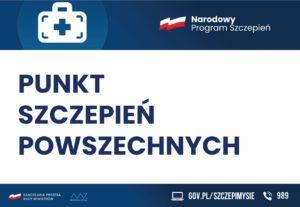 Punkt Szczepień Powszechnych – Hala Sportowa przy SP 2 wLwówku Śląskim